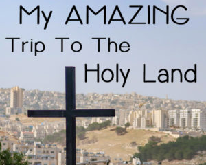 My Amazing Trip to the Holy Land and Jerusalem | BlessThisEmptyNest.com - Check out my photos and get the scoop on the insights we received along the way!